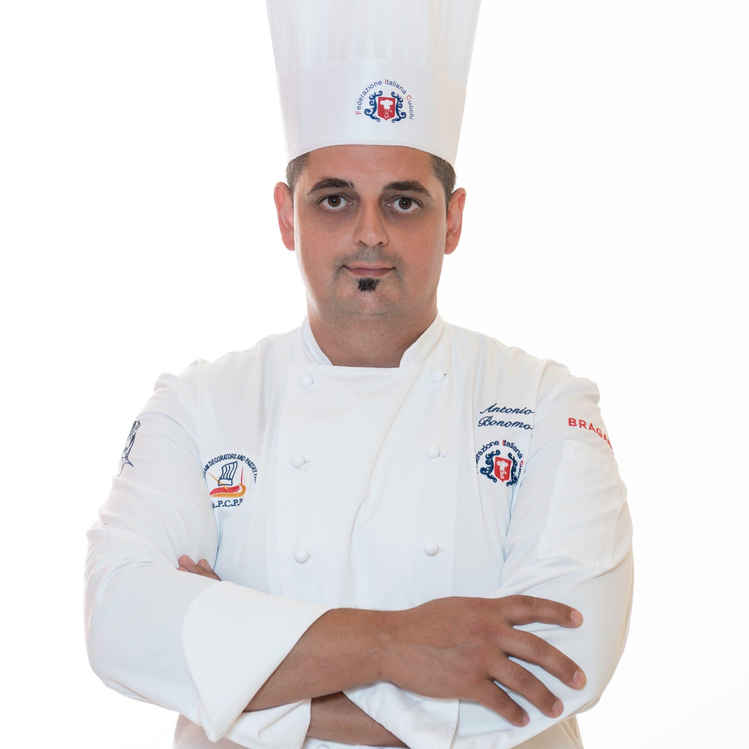 Lo chef Antonio Bonomo