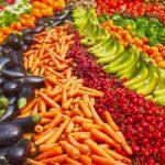 colori del cibo