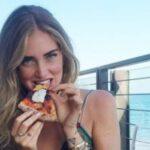 Chiara Ferragni, pizza