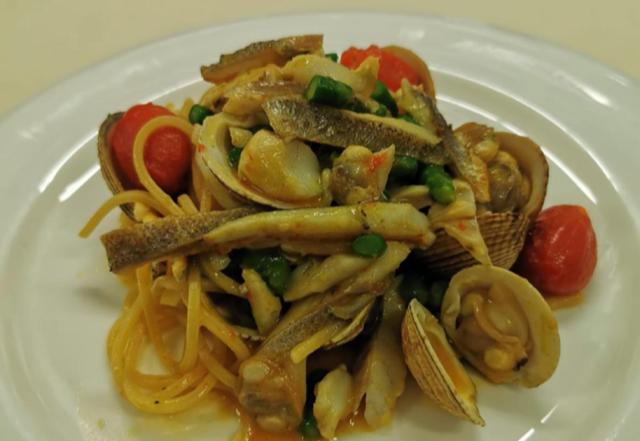 capricci di mare, chef Dario arena