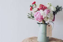 festa della mamma, peonia, fiori, bouquet