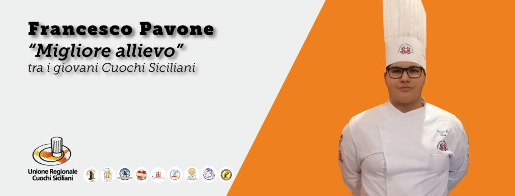 Francesco Pavone, miglior allievo
