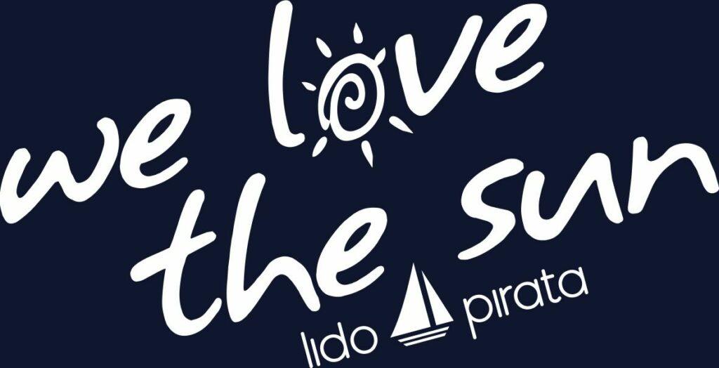 Il logo del Lido Pirata